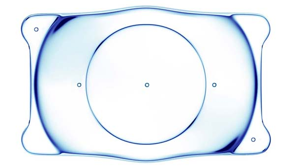 Implantable contact lens