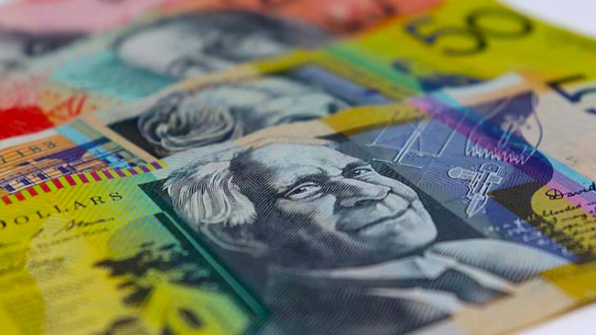 50 dollar Australian bills